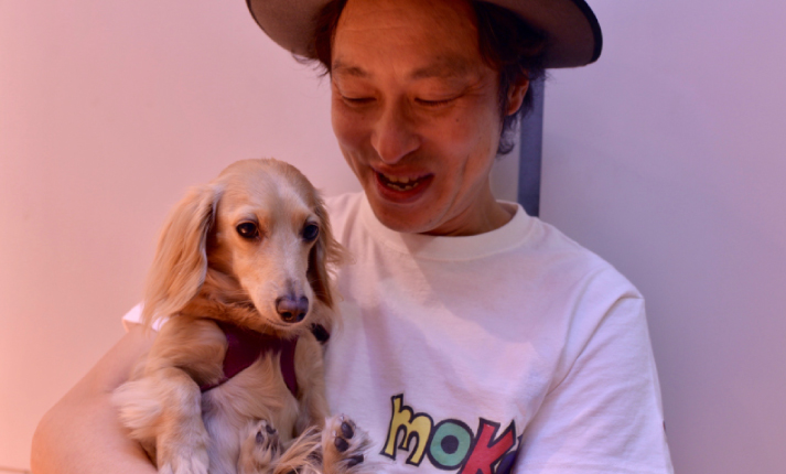 ギタリストのAkiさんのモカ