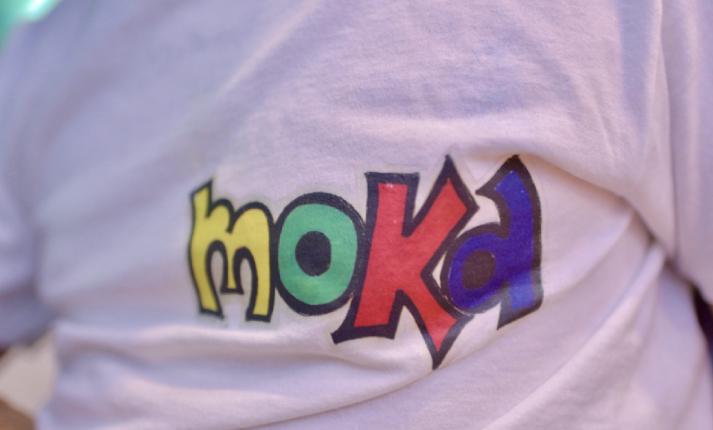 ギタリストのAkiさんのモカTシャツ