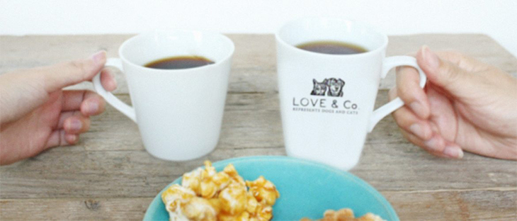 LOVE & Co.のマグカップ