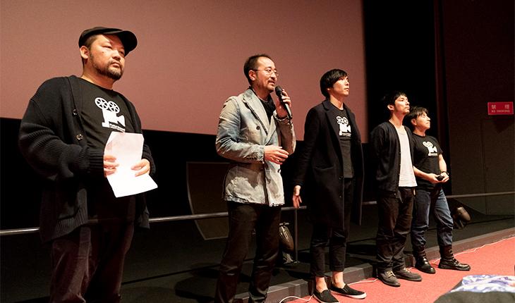 福井駅前短編映画祭の様子