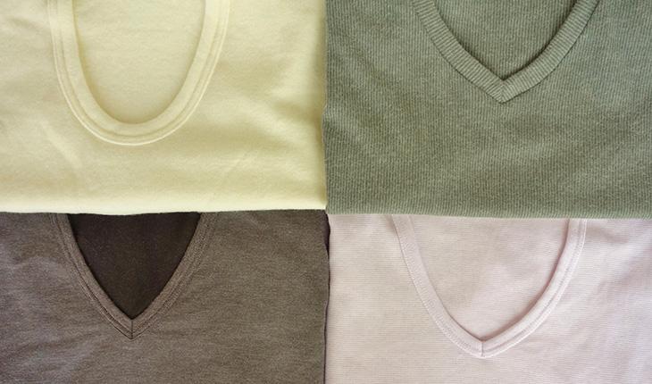Tシャツの素材はどれが最適?使われている素材や編み方の違いとは